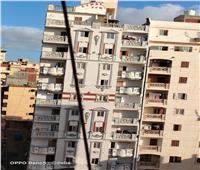شاهد   ميل عقار مكون من 17 طابقا في الإسكندرية