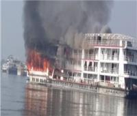 بعد الدفع بـ3 سياراتإطفاء.. السيطرة على حريق في مطعم نيلي بالجيزة