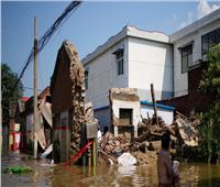 ارتفاع عدد الضحايا جراء الفيضانات في الصين إلى 58 شخصا