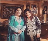 كواليس لقاء الفنانة الكبيرة نجوى فؤاد مع الإعلامية الكويتية فجر السعيد