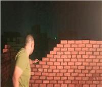 ضبطبناء مخالف في العمرانية بالجيزة