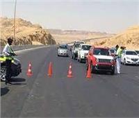الدفع بسيارات الإغاثة على الطرق السريعة لمواجهة الحوادث