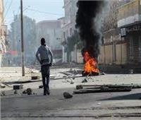تونس.. محتجون يشعلون النيران في مداخل مقر حركة النهضة في توزر