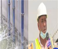 مشروعات مياه الشرب والصرف بشبين القناطر تخدم 10 قرى