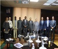 وزير الكهرباء يبحث سبل التعاون مع وزير الطاقة البوروندي