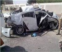 إصابة 8 أشخاص في 3 حوادث بمحافظة مطروح
