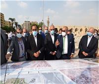 مدبولي: توجيهات رئاسية بضغط المخطط الزمني لتطوير ساحة مسجد عمرو بن العاص