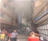 رئيسا «مدينة الجيزة وحي الطالبية» يتفقدان حريق عقار