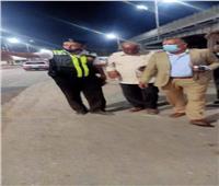 حملات مكثفة على مواقف السيارات في المنيا