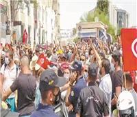 «عيد الجمهورية» يصادف مظاهرات حاشدة فى تونس لإسقاط الإخوان
