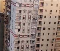 ضبط مالك العقار المائل في الإسكندرية