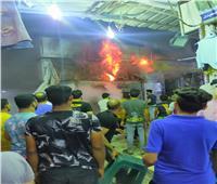 السيطرة على حريق في شارع الصاغة بالعريش