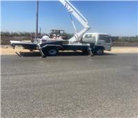 صيانة 76 كشافاً وتركيب 18 جديداً في حملة بمركزي «سمنود والسنطة»