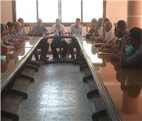 اجتماع موسع لمسؤلي مركز ديرمواس لمناقشة عدد من الملفات الهامة