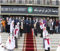 رئيس جامعة الأزهر يستقبل وزير التربية والتعليم