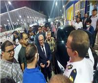 «محافظ بورسعيد» يتابع انتظام سير العمل بالميناء البرى الجديد