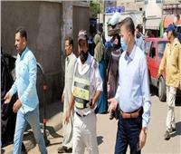 رفع 36 حالة إشغال ومتابعة الإجراءات الاحترازية بشوارع المنيا
