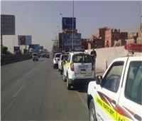 انتشار سيارات الإغاثة على الطرق السريعة لمواجهة الحوادث