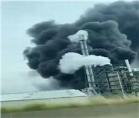 انفجار ضخم في مصنع للكيماويات بمدينة ليفركوزن الألمانية| فيديو