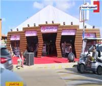 استمرار فعاليات معرض «ديارنا» للحرف اليدوية والتراثية في الساحل الشمالي   فيديو