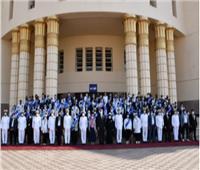أكاديمية الشرطة تستقبل عدد من شباب وفتيات برلمان الطلائع | صور