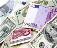 انخفاض جماعي في أسعار العملات الأجنبية منتصف تعاملات اليوم