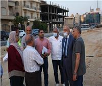 مسئولو الإسكان يتفقدون مشروعات تطوير المحاور والطرق بالقاهرة الجديدة