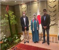 وزير الشباب والرياضة يلتقي رئيسة بعثة الإمارات المشاركة في أولمبياد طوكيو 2020
