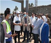محافظ بني سويف يتفقد مشروعات «حياة كريمة» بمركز ببا
