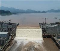 خبير يتوقع هدم الفيضان للجزء العلوي من السد الإثيوبي  فيديو
