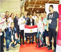 وزير الرياضة: «هداية» و«سيف» شرفونا.. والميداليتان هديتنا للرئيس السيسي