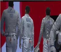 «طوكيو 2020» | مصر تهزم اليابان في السلاح وتواجه كوريا في ربع النهائي