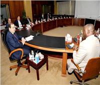 وزير البترول يستقبل رئيس مؤسسة التمويل الأفريقية
