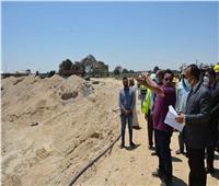 نائب محافظ المنيا يتابع تنفيذ مشروعات «حياة كريمة» بمركز مغاغة