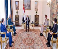 «السيسي» لقائد الجيش اللبناني: الجيوش الوطنية هي العمود الفقري الضامن لاستقرار وتماسك الدول