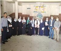 رئيس الإدارة المركزية للتمريض يتفقد مستشفيات ووحدات محافظة الغربية
