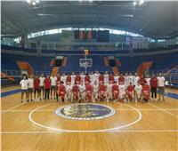 منتخب مصر للناشئين يخسر أمام صربيا في كرة السلة