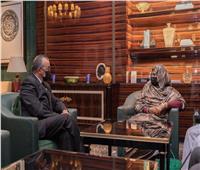 وزيرة خارجية السودان تلتقي مدير الصحة العالمية