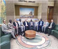 وزير الري يبحث تعزيز العلاقات الثنائية مع جنوب السودان
