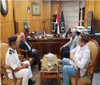 محافظ بورسعيد يوجه الشكر إلى اللواء ناصر حريز على جهوده خلال فترة توليه مهام منصبه