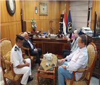 محافظ بورسعيد يهنئ حكمدار المحافظة على ترقيته مديرًا للأمن