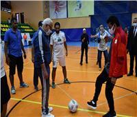 «صبحي» ومحافظ بورسعيد يشهدان لقاء المشروع القومي لرياضة المرأة