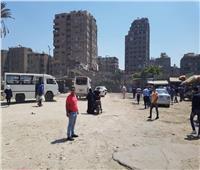 استمرار تمركز حملة الإشغالات على شارع ناهيا ببولاق الدكرور| صور
