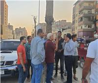 جولة لرئيس حي الطالبية في شارع السادات للتعرف على شكاوى المواطنين| صور