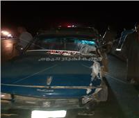 مصرع وإصابة 5 أشخاص في حادث مرورى في قنا