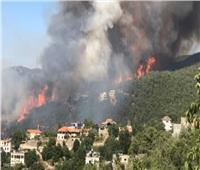 لبنان يكافح لاحتواء حرائق ضخمة مستمرة لليوم الثالث على التوالي
