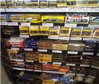 «تموين الغربية»: ضبط 1286 علبة سجائر مهربة بطنطا