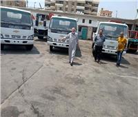 رئيس «كهرباء القناة» يستلم 5 سيارات نصف نقل لاستخدامها في المشروعات