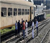 شاهد  النيابة العامة تنتقل لمعاينة حادث قطار نجع حمادي