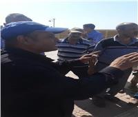 ننشر أقوال سائق قطار نجع حمادي بعد اصطدامه بالصدادات الخرسانية  فيديو
